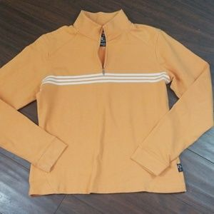 "Adidas Climalite stretch 1/4"" zip up sweatshirt Sm"